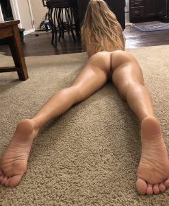 naked on the floor